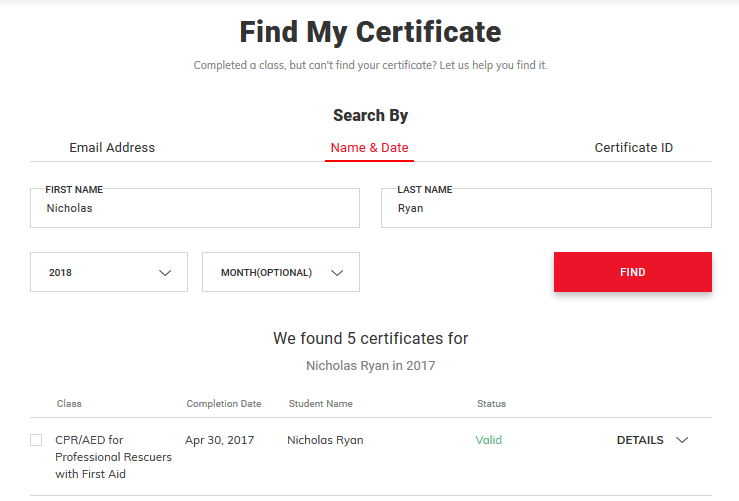 How To Find Your Certification
